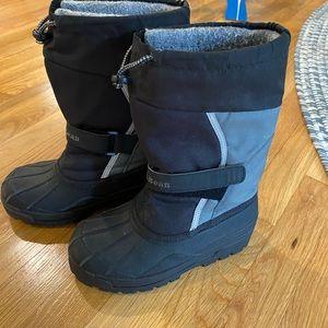 Kids Size 2 L.L. Bean Snow Boots